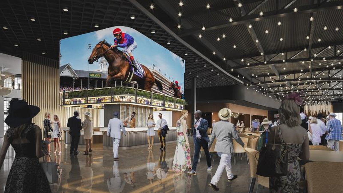 Churchill Downs announced three major investments to transform key areas at the home of the...