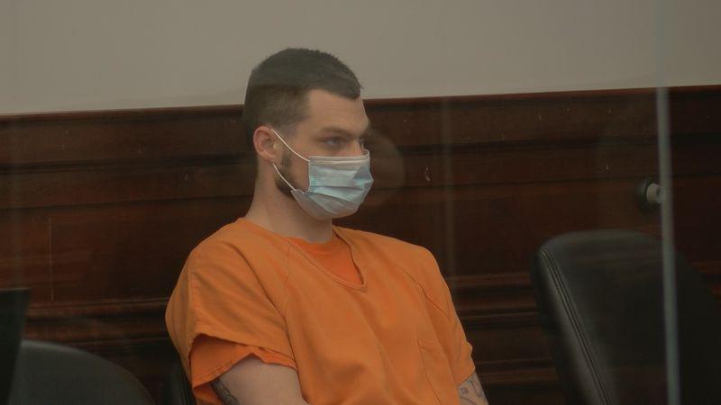 Trent Schaff in Bullitt Circuit Court June 7, 2021