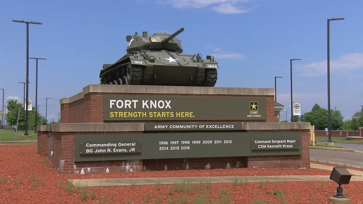 Fort Knox is a 109,000 acre U.S. Army post located south of Louisville, Ky. and north of...