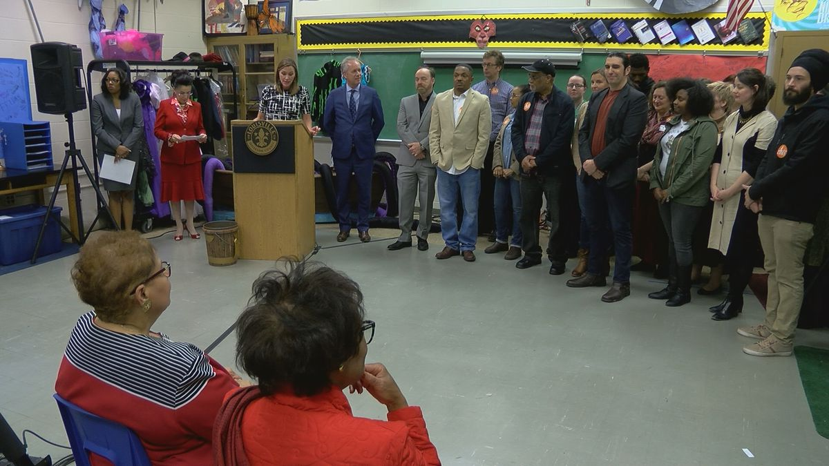 The Fund for the Arts and Mayor Greg Fischer announced new arts projects Thursday.