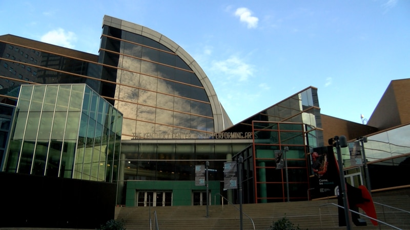 Nearly a year and a half after a three-alarm fire damaged the Kentucky Center for the Arts...