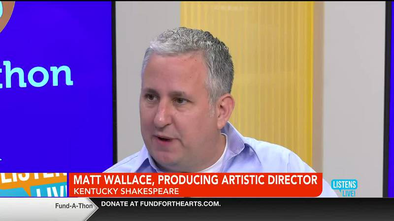 John Ramsey welcomes Matt Wallace of Kentucky Shakespeare to the Listens Live! studio.