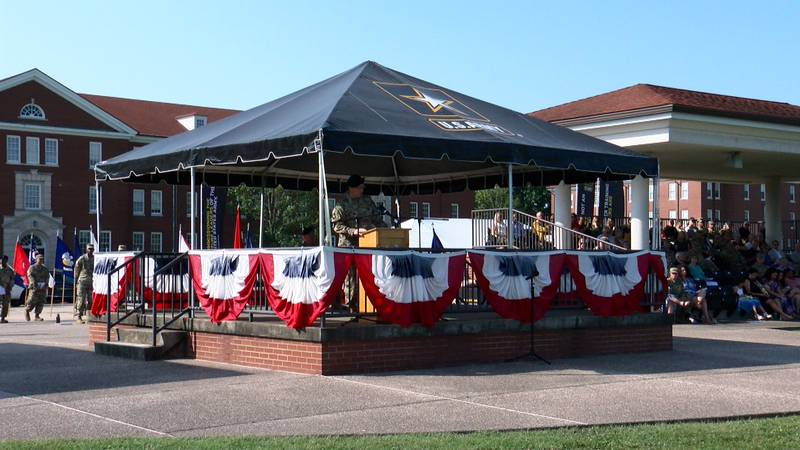 The United States Army Cadet Command and Fort Knox celebrated a change in leadership Tuesday...