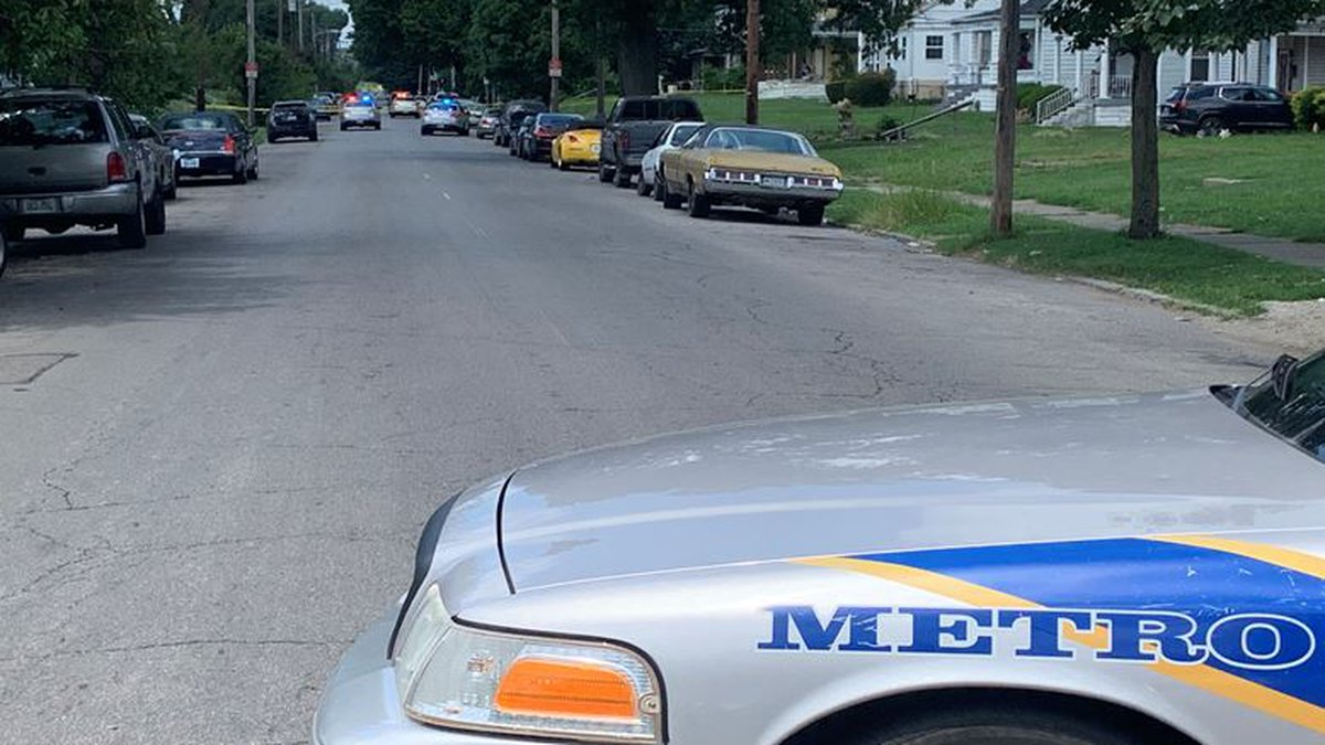 One person was critically injured in the shooting. (Source: Doug Druscke/WAVE 3 News)