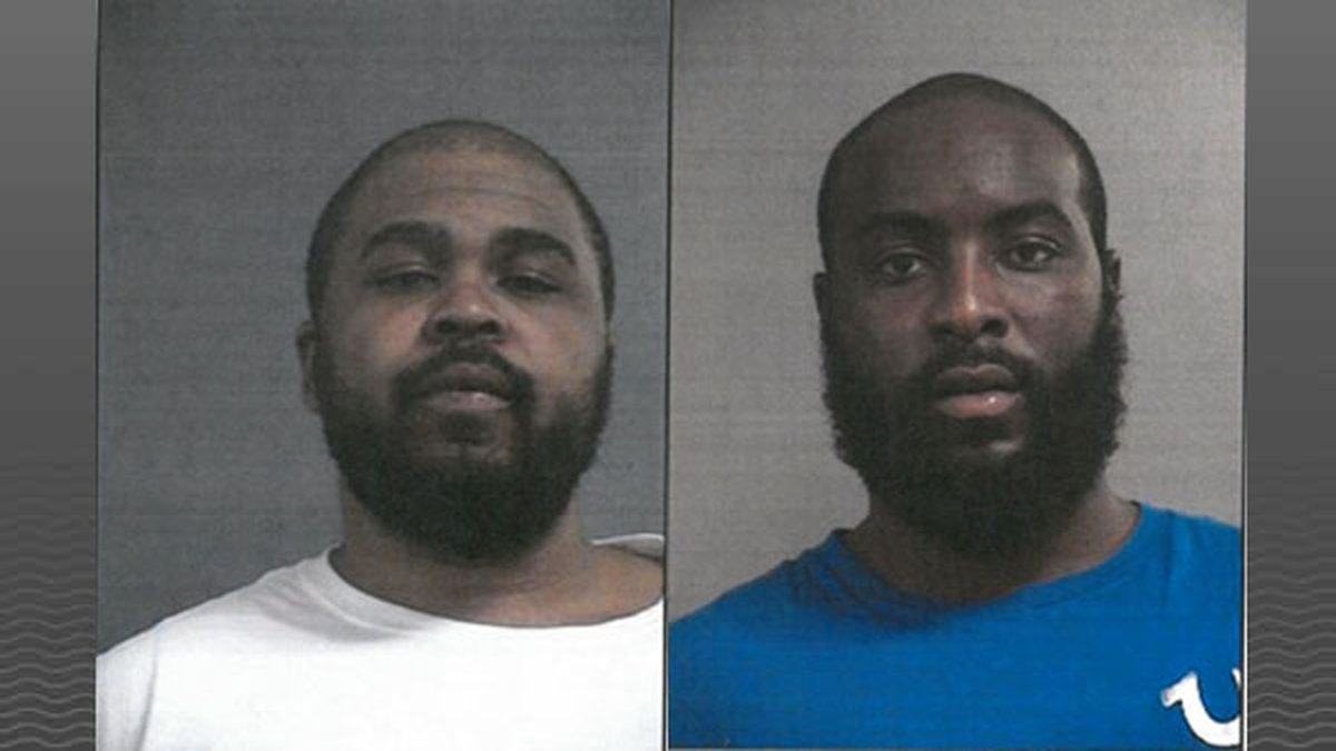 Police are looking for Nathaniel A. Durham (right) and Devon M. Johnson (left). (Source: LMPD)