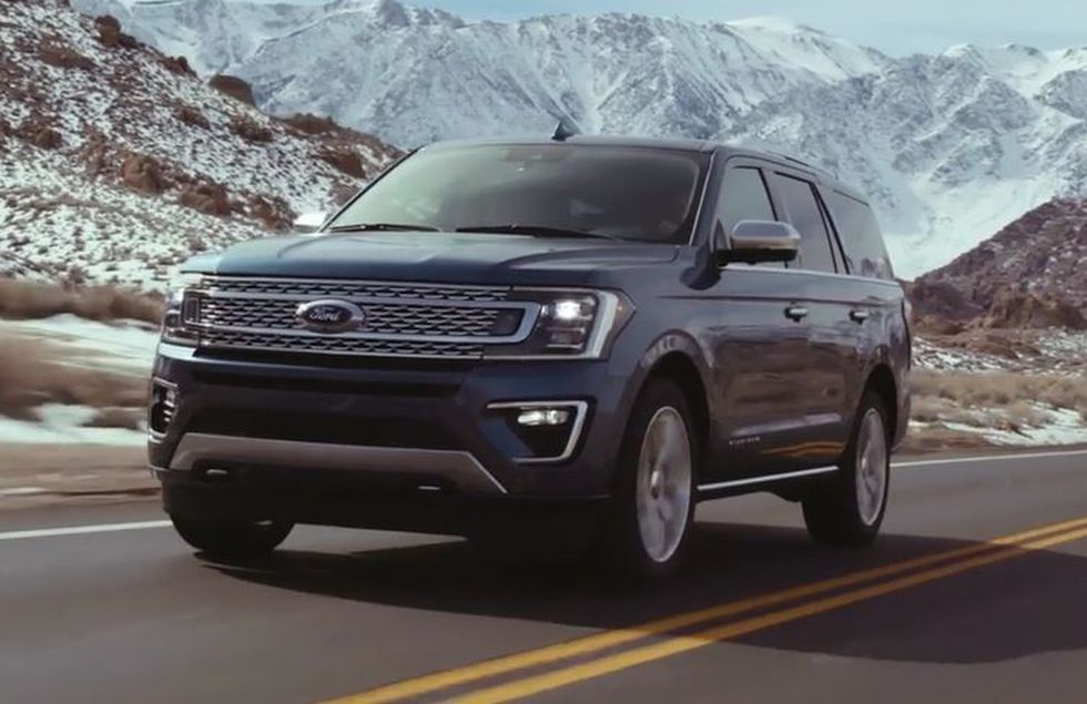 Ford Expedition (Source: Ford)