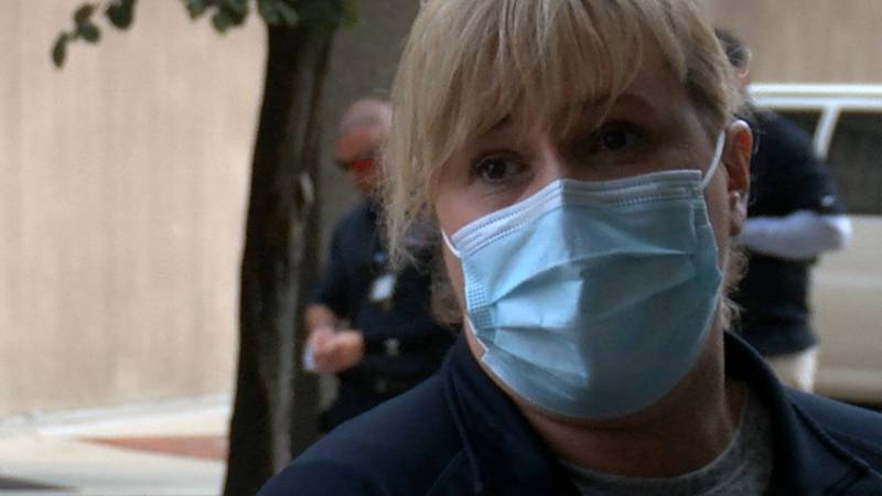Jill Beierle has been an ICU nurse at UofL Hospital for 30 years.