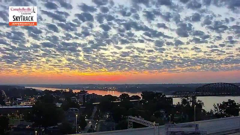 Check out this gorgeous time-lapse video of the sun rising over Louisville on Sept. 14, 2021,...