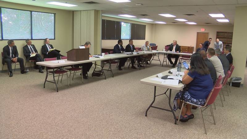 The task force held its first meeting Monday.