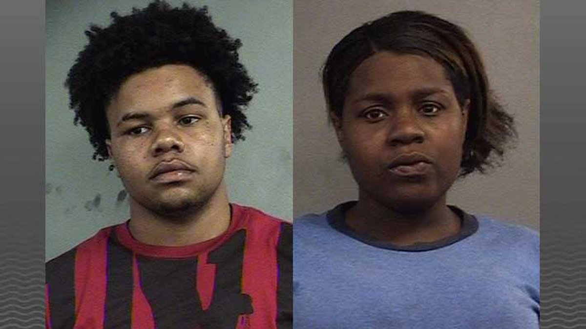 Keyveon White and April Blackmon face felony charges for the shooting. (Source: LMDC)