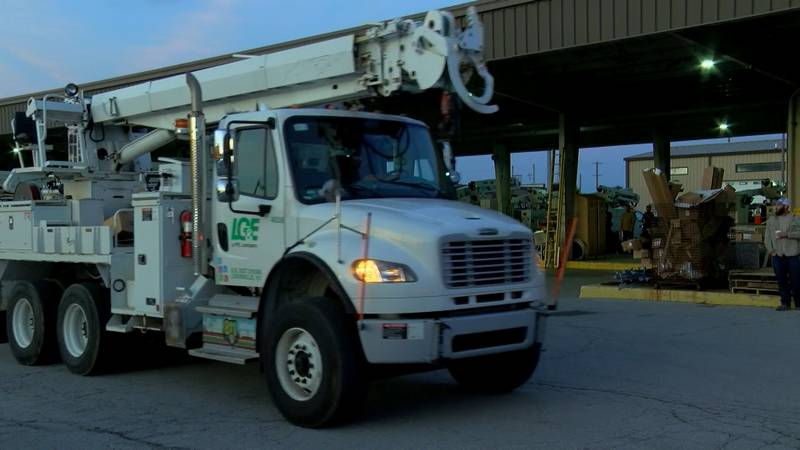 Louisville Gas and Electric and Kentucky Utilities announced they will be sending 84 company...
