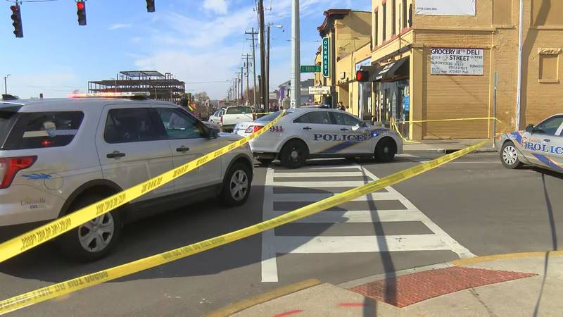 The shooting was reported in the 1800 block West Broadway around 11:55 a.m. Thursday, according...