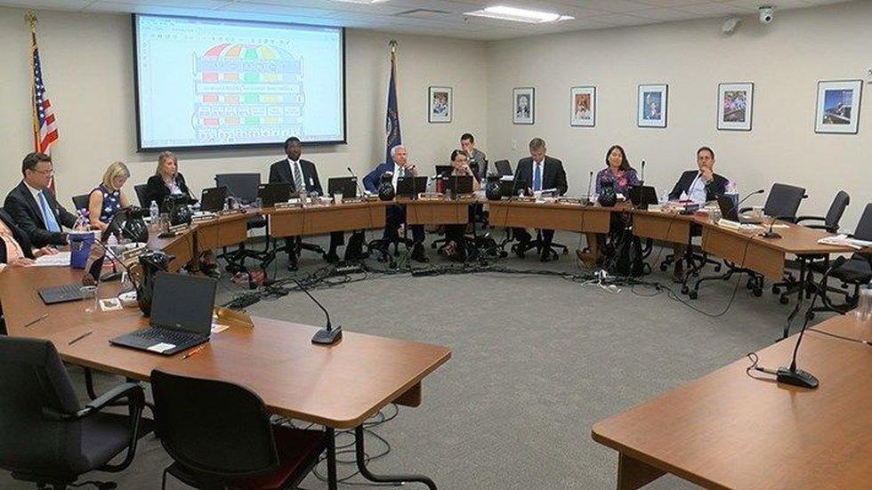 Teachers, parents and staff spoke at the Kentucky Board of Education meeting on Wednesday....