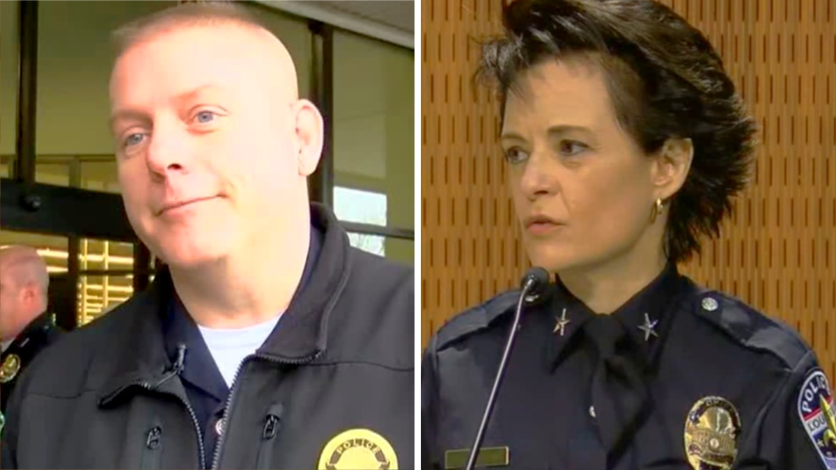 LMPD Officer Aubrey Gregory (left) was the commander of the LMPD's Training Unit but was...