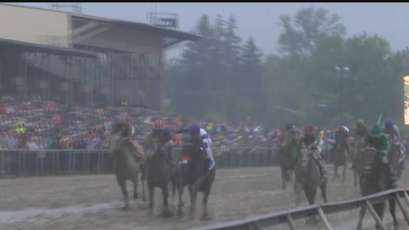Exaggerator wins the Preakness Stakes - reaction from Baltimore