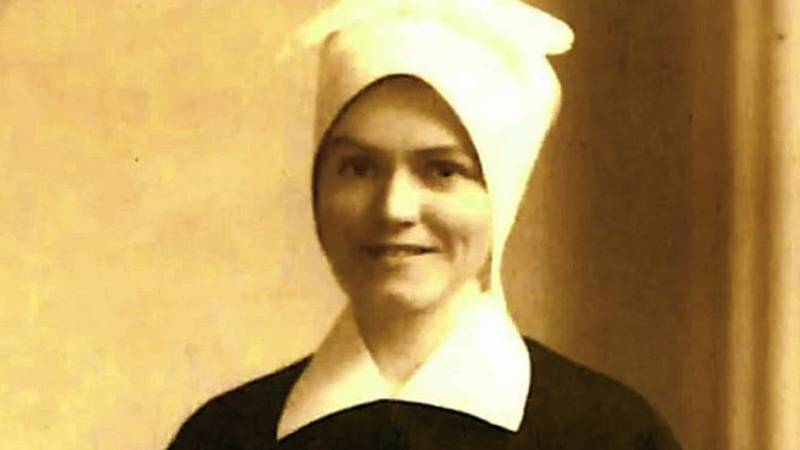 Sister Evelyn Hurley, of the Sisters of Charity in Nazareth, Kentucky, is just a few weeks away...