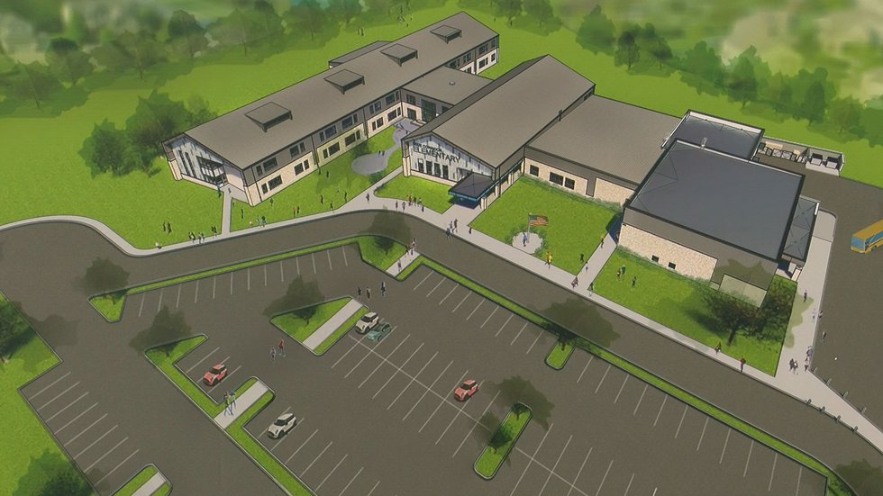 The Dixie Area Corridor elementary school is expected to be finished by August 2022. The...