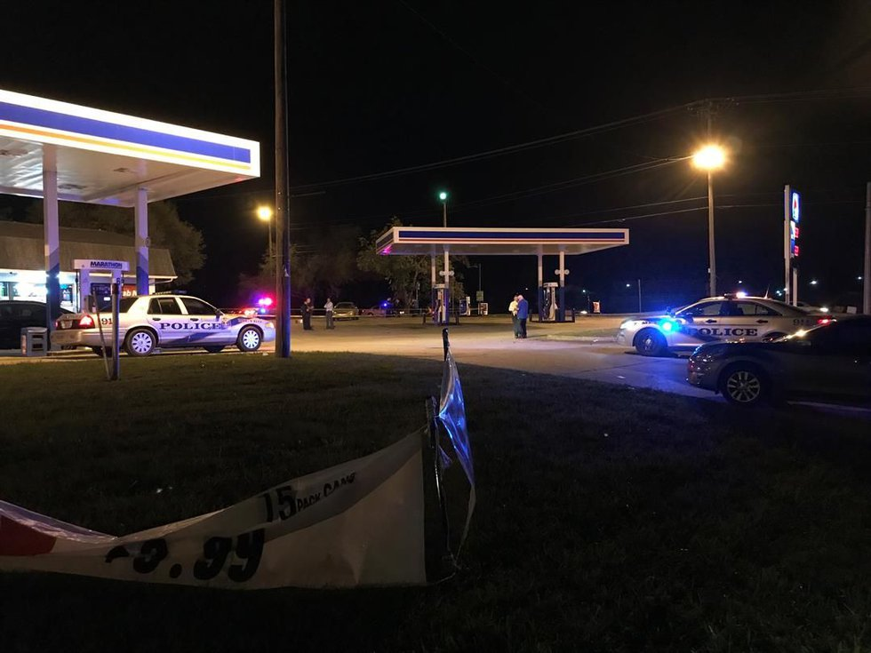 Police were also called to a corner gas station on Rockford Lane and Cane Run Road in relation...