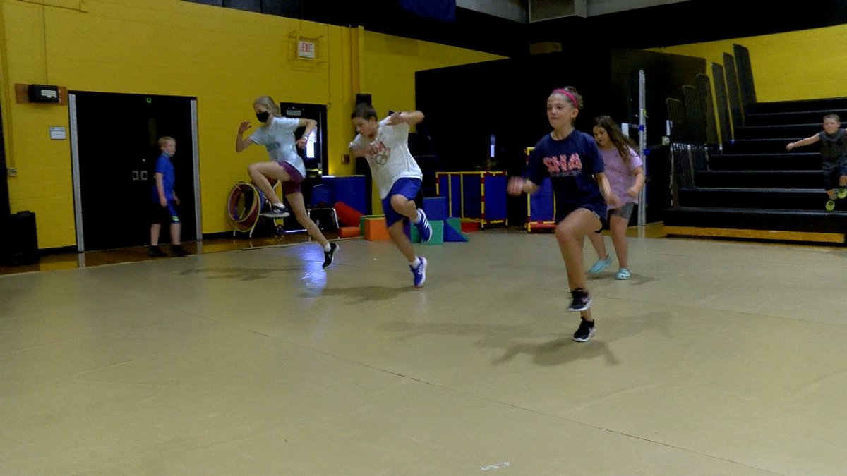 Students in the Camp Walden summer program got a taste of Olympic competition as the school...
