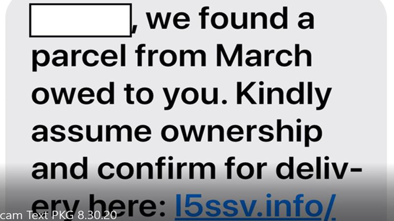 A new text messaging scam has emerged where hackers reveal the recipient's name as well as a...