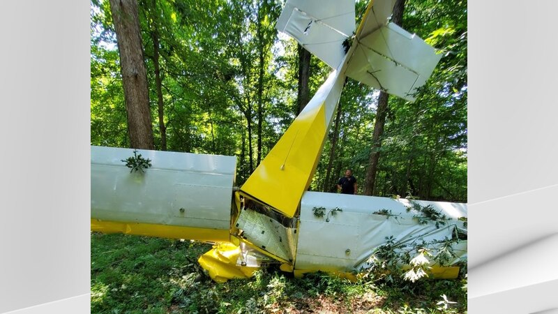Crews were sent to locate a small aircraft that went down in a wooded area near the 5000 block...