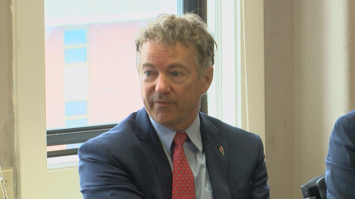 Sen. Rand Paul (R-Ky.) says he's aware of the psychological impact of gun violence and does...