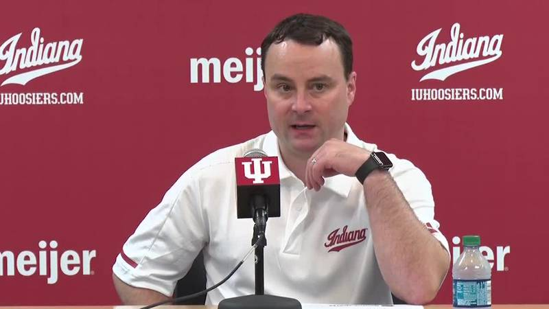 Indiana basketball coach Archie Miller previews his team's upcoming game against Southern...
