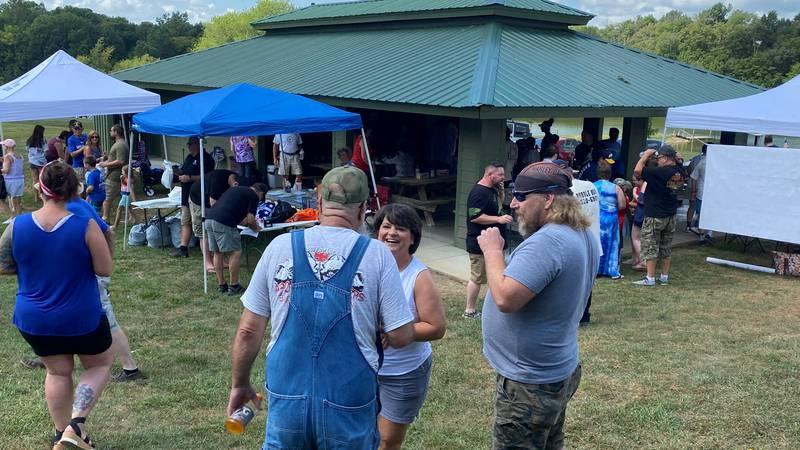 The Veteran's Club Family Appreciation Day at Lake Jericho