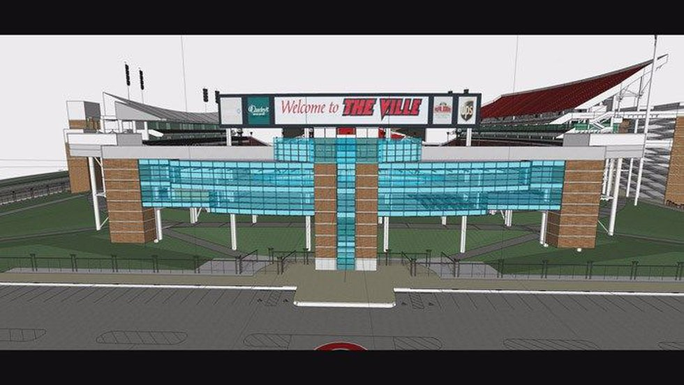 The Thorntons Academic Center for Excellence, part of the$19.5 million Papa John's Cardinal...