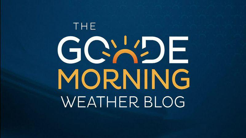 Goode Morning Weather Blog 6/10