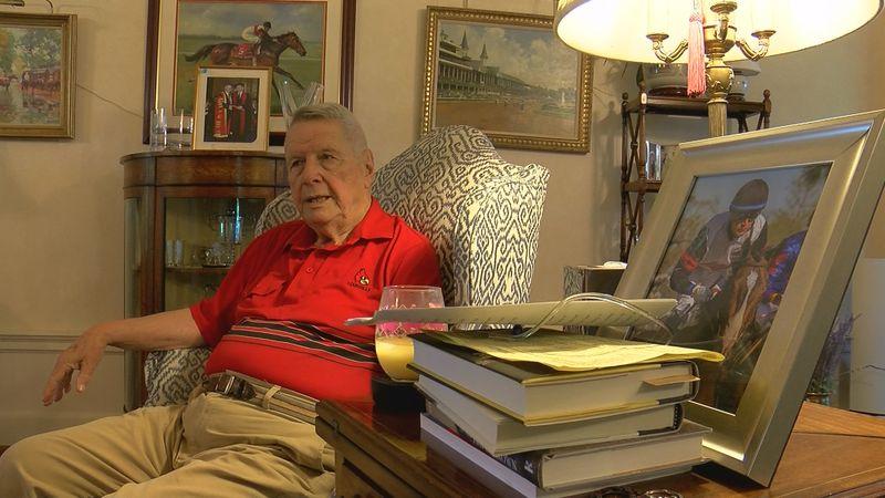 Dr. Hiram Polk, founding member of the Jockey Club Thoroughbred Safety Committee