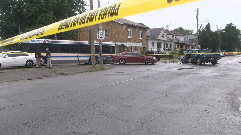 The crash killed one person Tuesday.