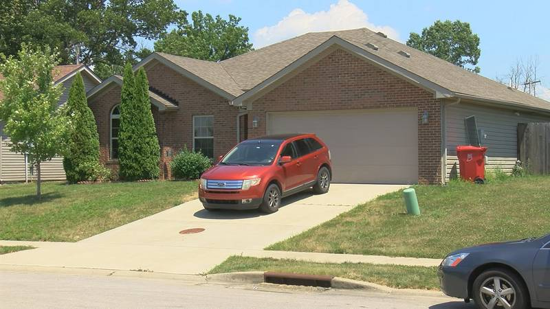 Officials say a family member reported the domestic violence situation on Harmony Woods Drive.