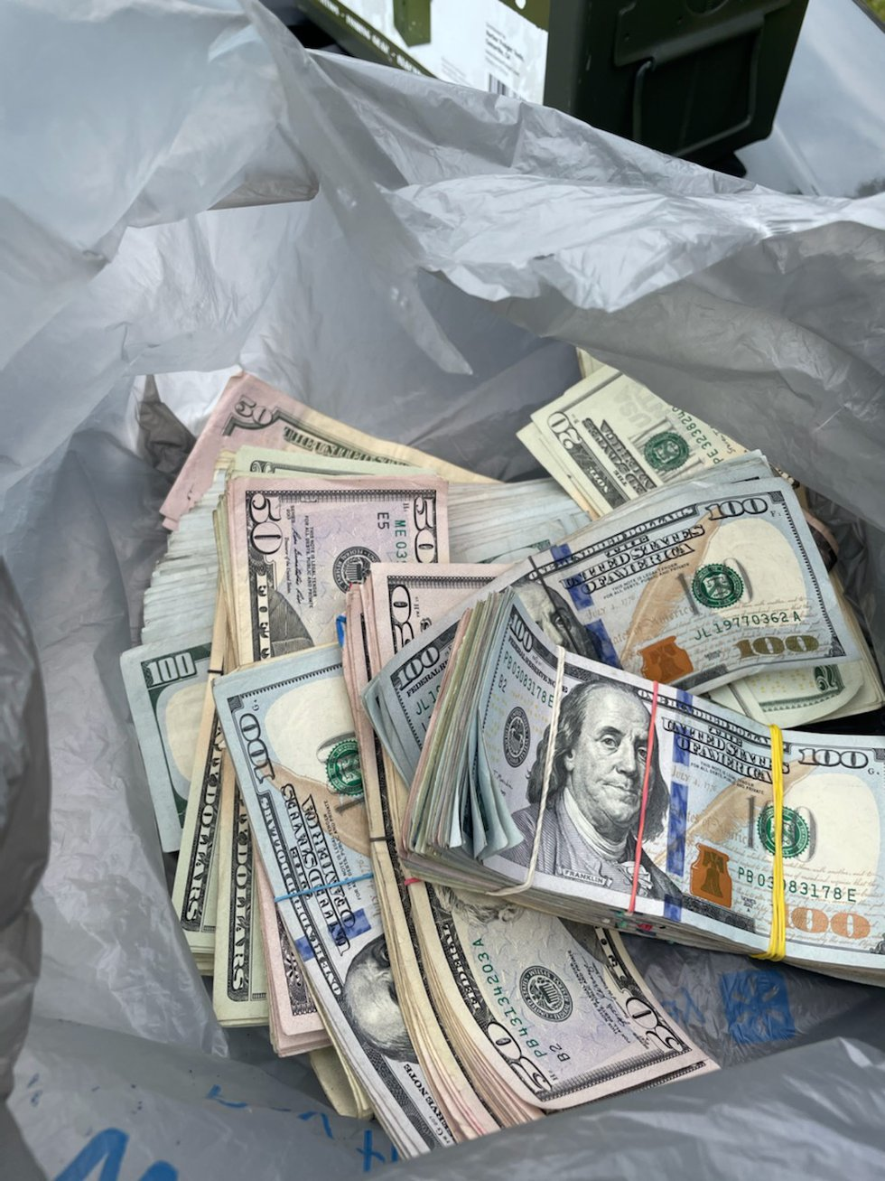 Metro Corrections Officers made a large drug bust while doing a home incarceration, or HIP...