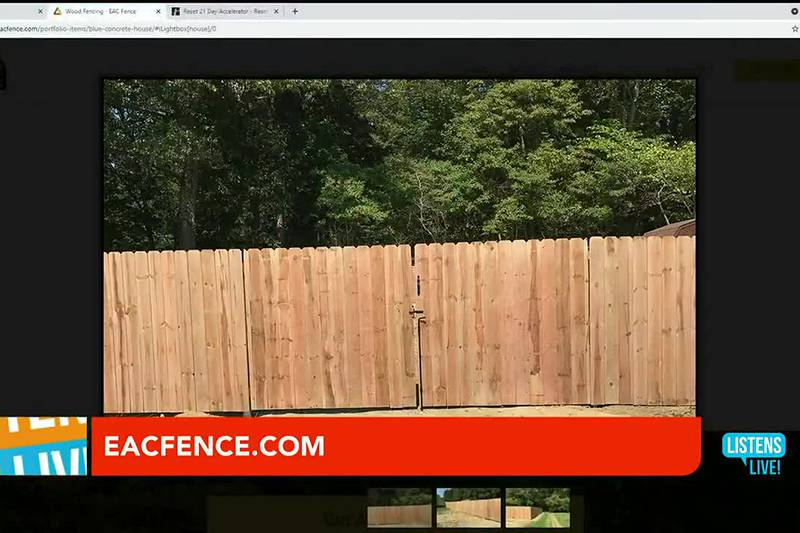 John Ramsey welcomes EAC Fence to the Listens Live Studio