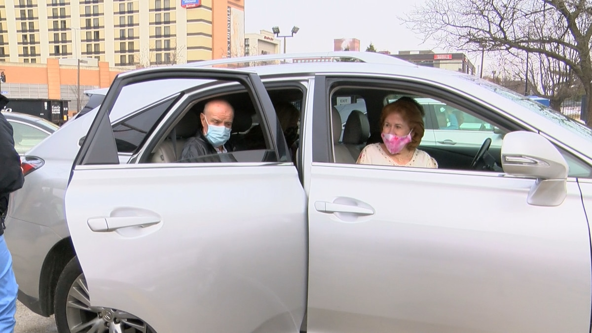 Valentine's Day was a bit sweeter for a long-time Louisville couple as they received their...