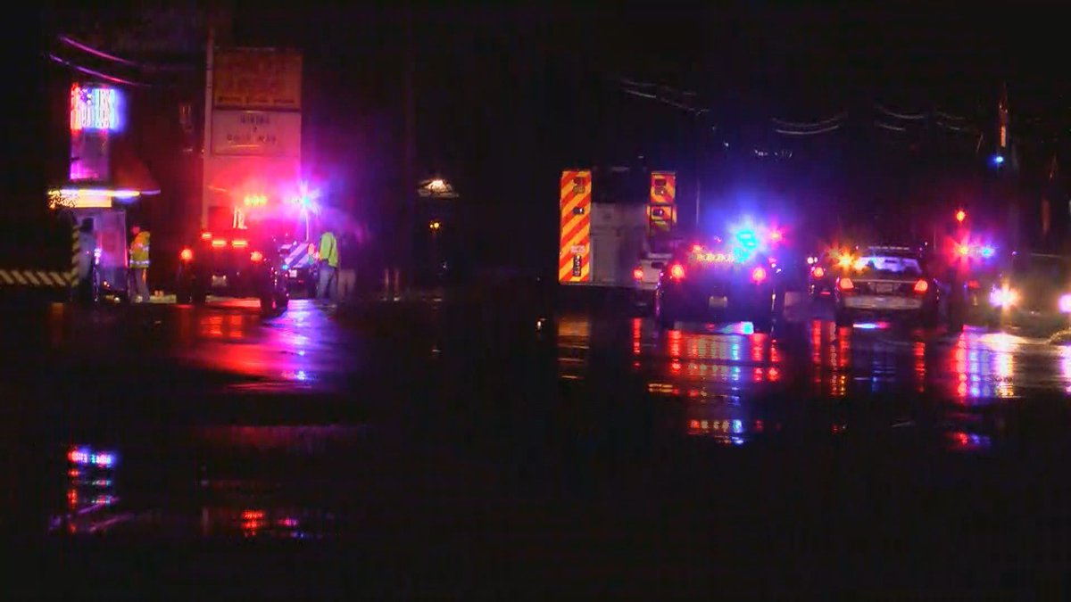 Louisville Metro police say a man was crossing Dixie Highway at Satterfield Way in Southwest...
