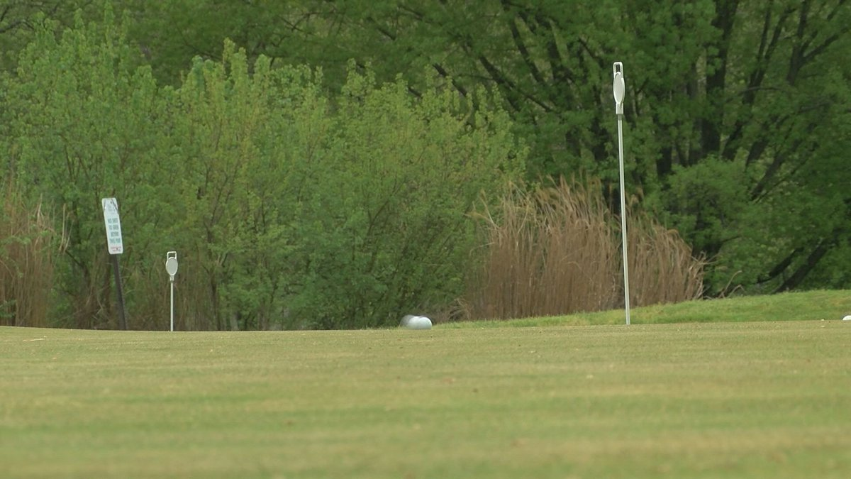 Golf courses, like this one at Cherokee Park, along with libraries and pools around Louisville...