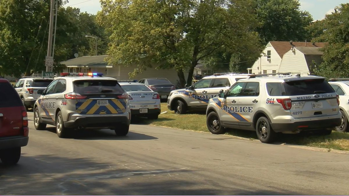 Police responded to the area around 1:30 p.m. Thursday and have surrounded the home since.