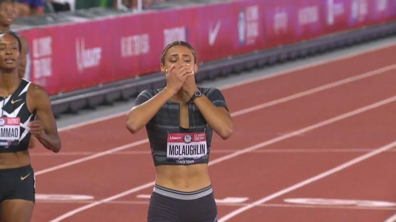 Former UK star sets World Record in 400m hurdles