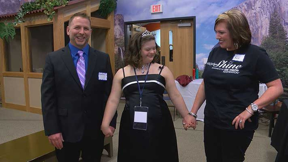 Night to Shine is a prom for people with special needs. (Source: WAVE 3 News)
