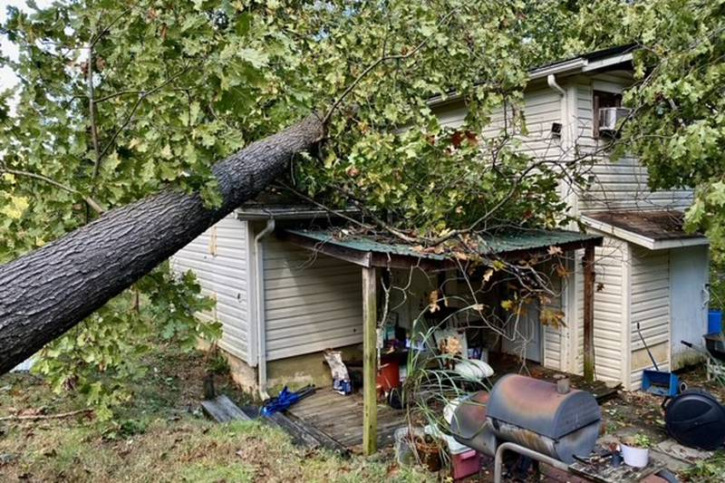 An EF-0 tornado touched down in southern Indiana during Friday night storms, leaving damage.