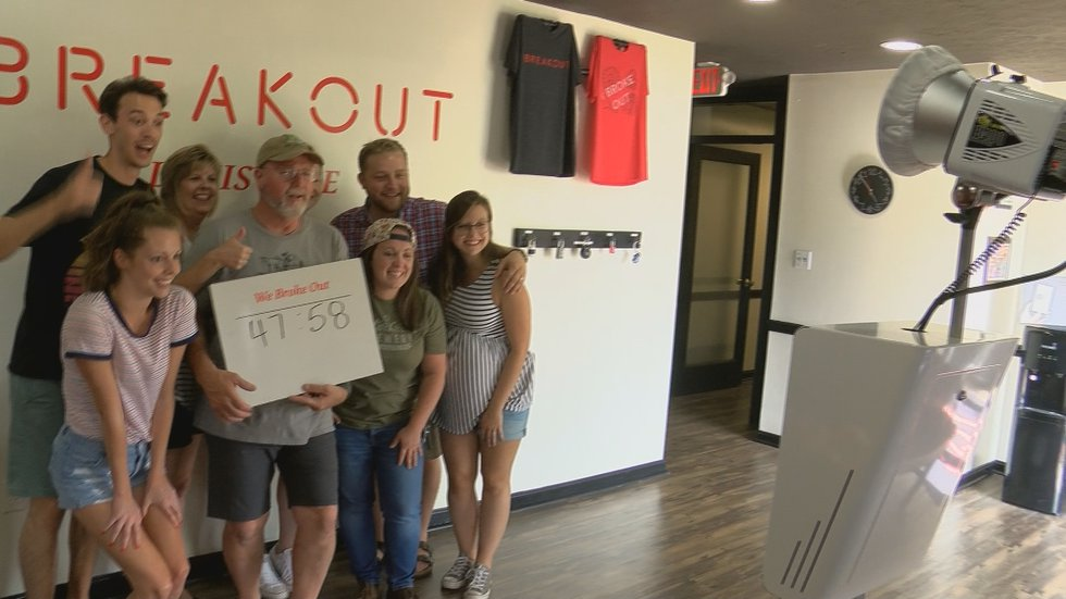 Breakout Games in Jeffersontown specializes in the escape room experience.