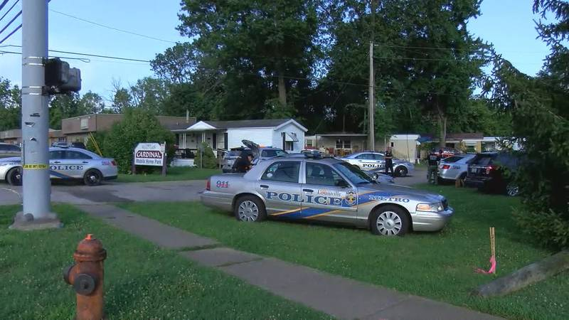 Neighbors told a WAVE 3 News reporter a person with a gun is barricaded in a trailer. (Source:...