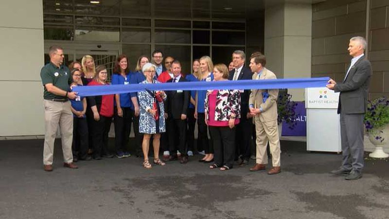 The ribbon was cut on the renovated emergency department on Wednesday. (Source: WAVE 3 News)