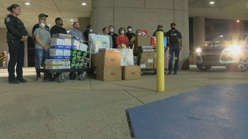 Global Disaster Outreach delivered 1,200 meals to healthcare workers at several hospitals in...