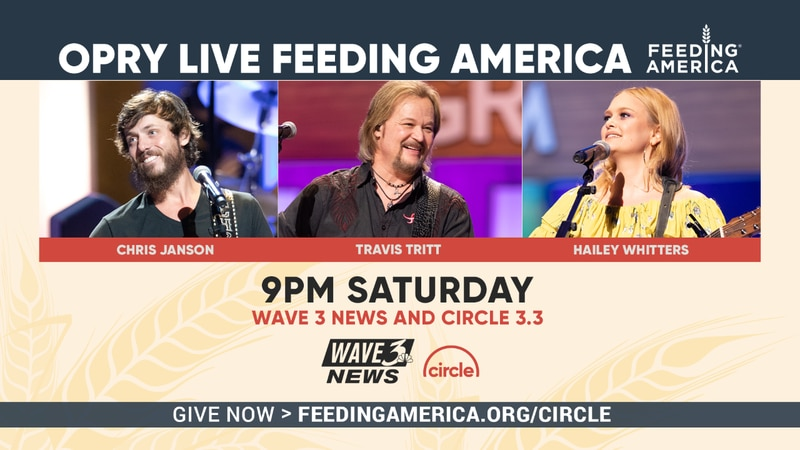 WAVE 3 News parent company Gray Television is partnering with The Grand Ole Opry and Circle...