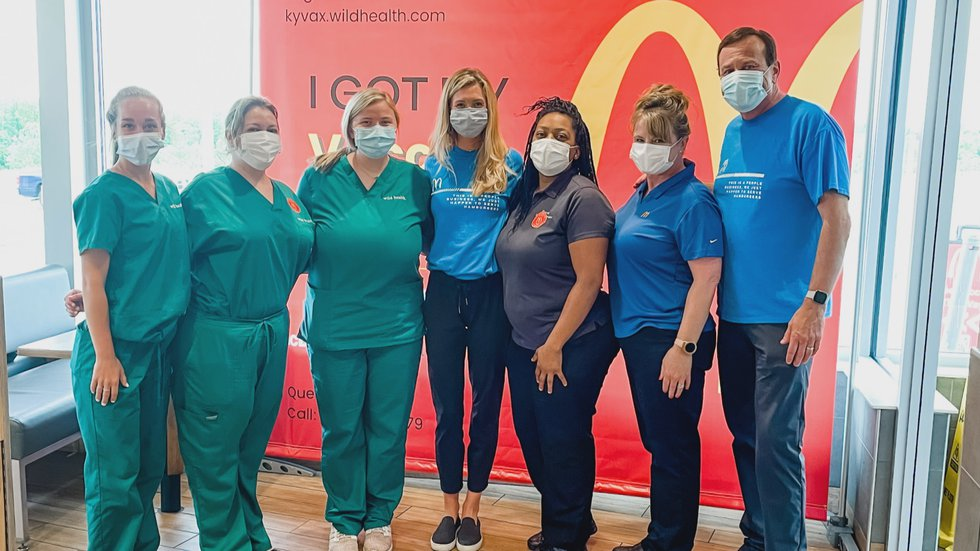 The clinic served employees and the public. (Source: Tom Burrell Organization)