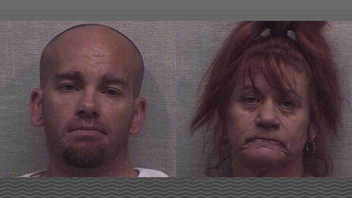 Ryan Plessinger, 33, and Rose Victorino, 57, face felony drug charges. (Source: Jackson County...