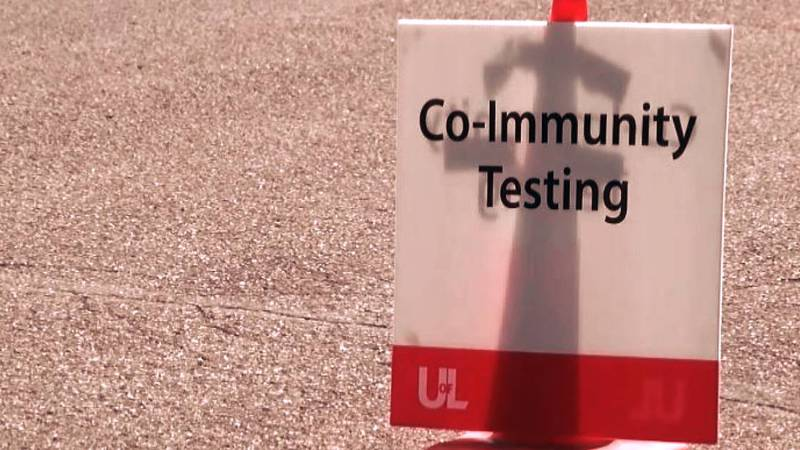 A UofL research study began in May with a goal to determine the true presence of COVID-19 in...